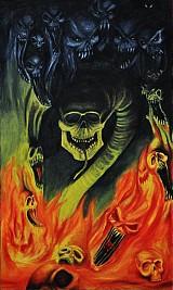 Obrazy - Temnota Žerie Peklo - 760145