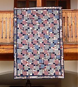 Úžitkový textil - Kockovaná deka - 768707