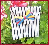 Iné tašky - s viacfarebnou mašličkou - 768914