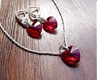 Sady šperkov - Strieborná sada šperkov
