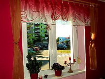 Úžitkový textil - Šálik,plédik,záclonka - 776798