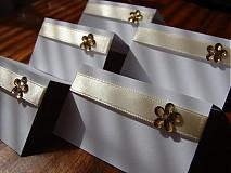 Papiernictvo - menovky na stôl - 777653