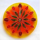 Hodiny - Hodiny tulipánové - 783338