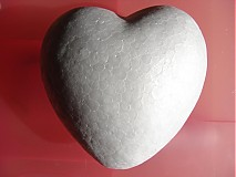 Polotovary - srdce 10cm - 787094