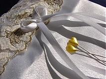 Prstene - vankúšik pod obrúčky - 792147