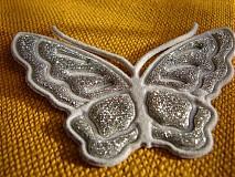 Galantéria - motýlik - 792152