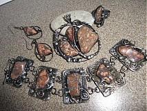 Sady šperkov - Jaspis leopardí 4v1 _OB - 800258