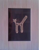 Dekorácie - Mačka 02 - 810778