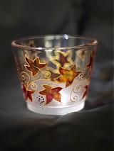 Svietidlá a sviečky - Svietnik na čajovú sviečku - Autumn - 819717
