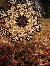 Dekorácie - Srdečná Mandala - 823560