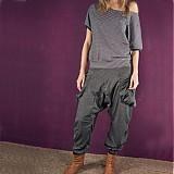 Nohavice - Japonské kalhoty Downtown Chic  - 82430