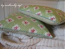 Úžitkový textil - Snové obláčky -ZELENKAVÉ - 828460