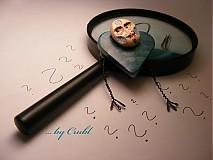 Odznaky/Brošne - Brošňa Ako Hercule Poirot - 828847