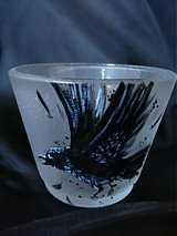 "Svietidlá a sviečky - Svietnik na čajovú sviečku - ""Nevermore"" - 828898"