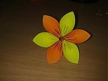 Dekorácie - Origami kvety - 842936
