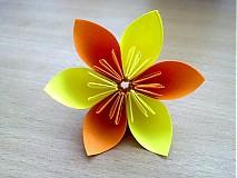 Dekorácie - Origami kvety - 842937