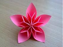 Dekorácie - Origami kvety - 842938