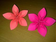 Dekorácie - Origami kvety - 842939