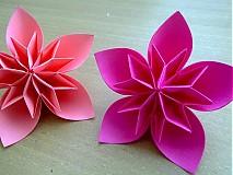 Dekorácie - Origami kvety - 842940