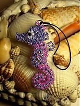 Na mobil - Ružovo-fialový morský koník - 848138