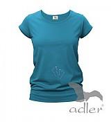 Tričká - Tehotenské tričko s trblietavými mini nožičkami - 889612