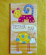 Tabuľky - menovka na dvere -DETSKÁ IZBA - 890918