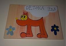 Tabuľky - menovka na dvere -DETSKÁ IZBA - 890938
