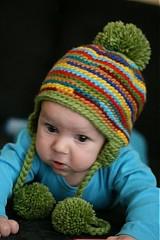 Detské čiapky - Pestrá čiapka. - 911951