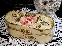 Dekorácie - Šperovnička ako od babičky - 91204
