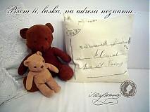 Úžitkový textil - Vankúšik - pošťáčikI. - 918910