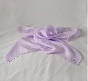 - Světle fialový šátek na přání - 931651