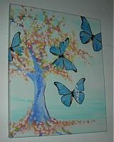Obrazy - Obraz Motýle - 932747