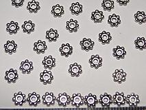 Korálky - Kovový krúžok-5mm-10ks - 936642