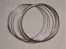 Suroviny - Pamäťový drôt-platina-100 ot. - 941515