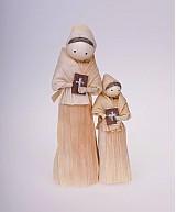 Dekorácie - Maminka s dcérkou a knižkami - 952641