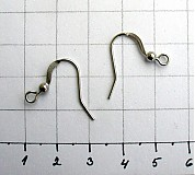 Komponenty - Háčiky z chirurgickej ocele/ 2 ks - 953515