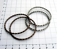 Komponenty - Kovové kruhy, 42 mm/ 4 ks - 953673