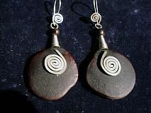 Náušnice - llama plata amazona - 954490