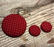 Sady šperkov - Náušky a brošňa \