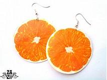 Náušnice - .pomaranče - 958117