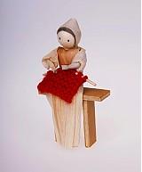 Žena s pletením