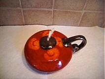 Svietidlá a sviečky - Olejová lampa väčšia - 969541