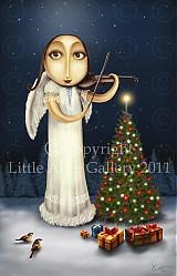 Grafika - Ilustrácia Vianočná - 971074