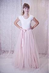 Sukne - Tylová suknica - 979737