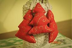 Dekorácie - stromček červený... - 987115