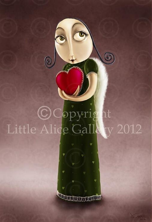 Ilustrácia Valentínka