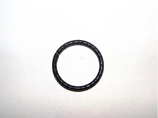 Spoj.krúžok-20mm oprac-čierny-1ks