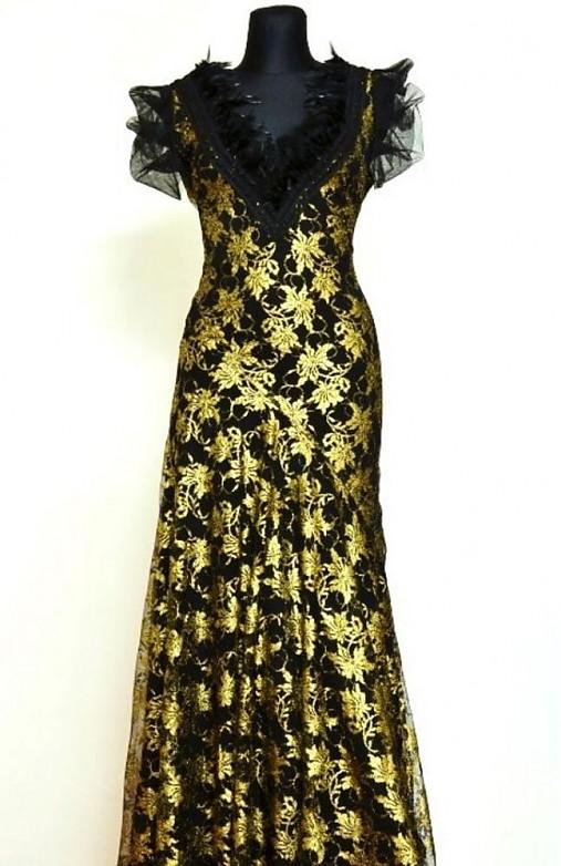 Plesové čipkované šaty-predané   Angeli - SAShE.sk - Handmade Šaty 2ddcebc4008