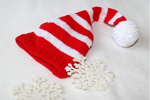 červeno-biela pásikavá