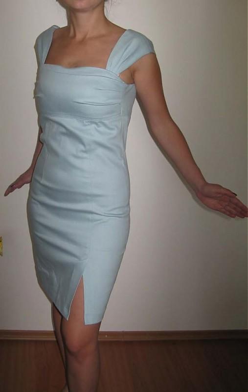 AKCIAA Šaty imitácia rifloviny